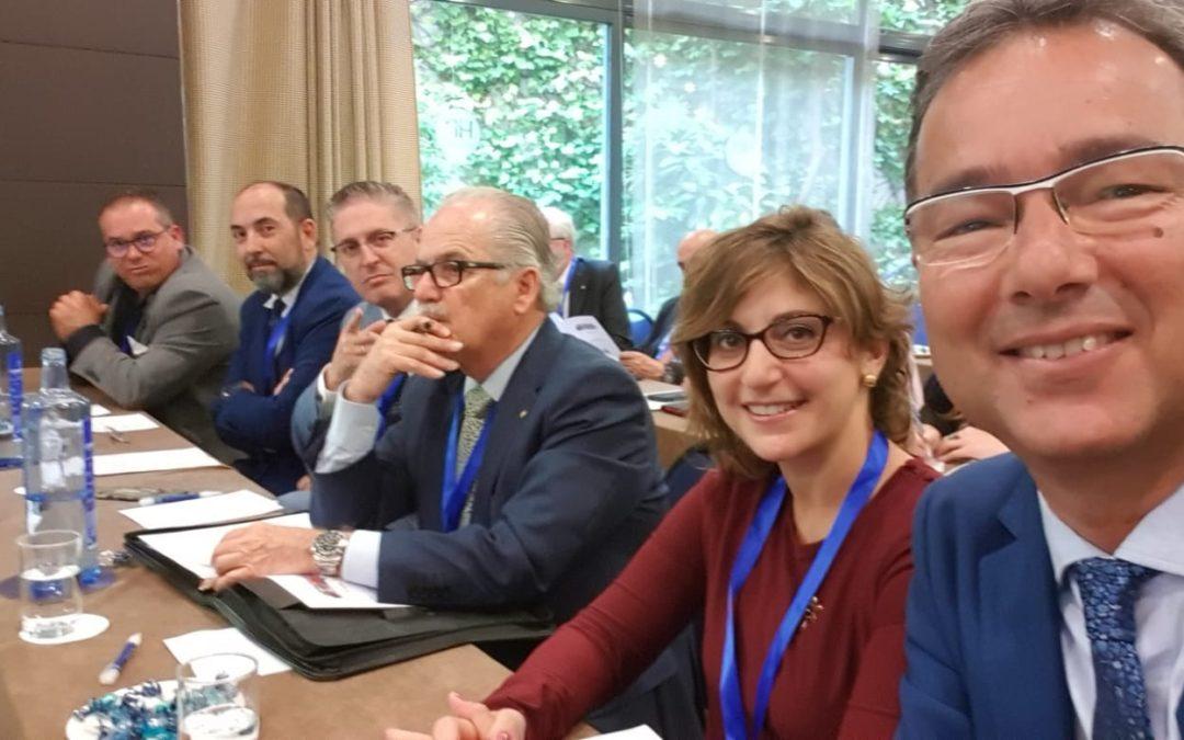 Varios miembros del Rotary Club Tenerife Sur, participan en la Asamblea Distrital de Rotary 2019 en Valladolid