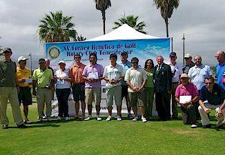 XV Torneo benéfico de Golf Rotary Club Tenerife