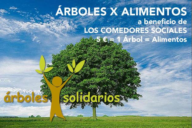 Árboles x alimentos, a beneficio de nuestros comedores sociales