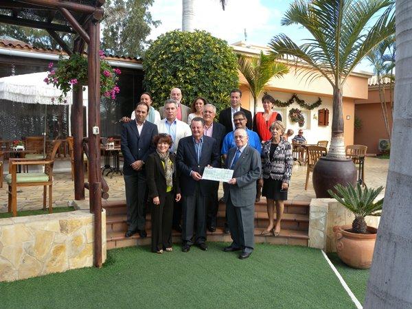 El Rotary Tenerife Sur colabora con el Fast en la Gala Solidaria
