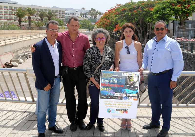 Primer Tenerife MotorShow del Rotary Club Tenerife Sur