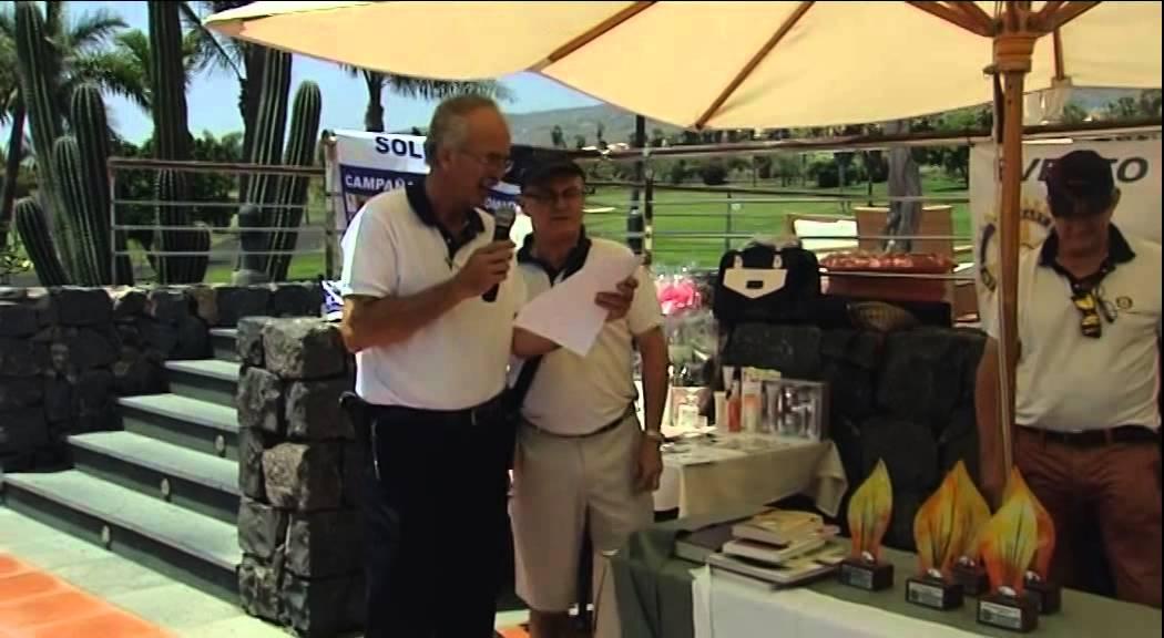 XIX Torneo de Golf Rotary Club Tenerife Sur 2014
