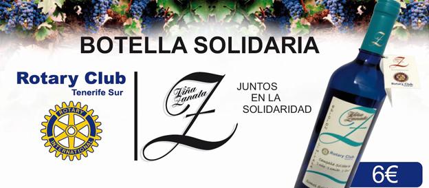Se presenta el «Vino Solidario de Rotary Club Tenerife Sur»