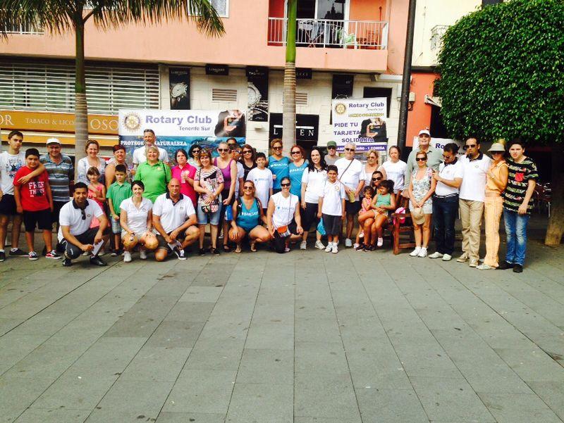 Caminata Solidaria del Rotary Club Tenerife Sur