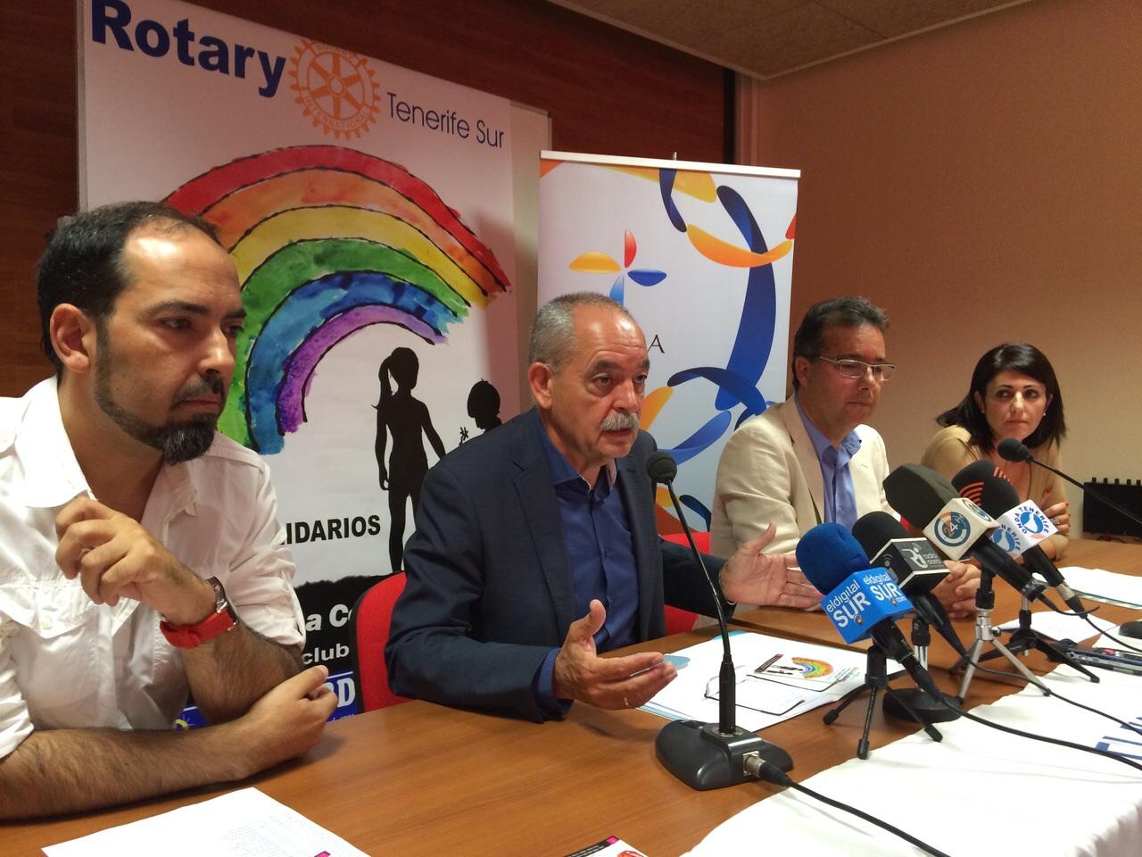 Se presenta en rueda de prensa la I Gala Solidaria de Rotary Tenerife Sur