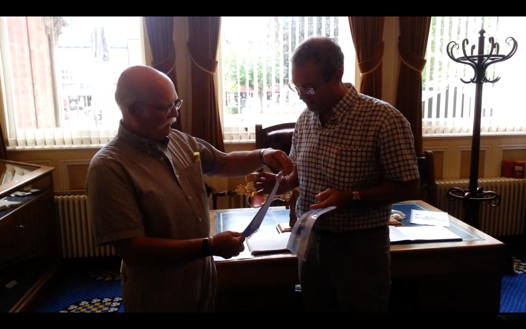 Visita del compañero Marcos Cabrera al Rotary Club de Grantham