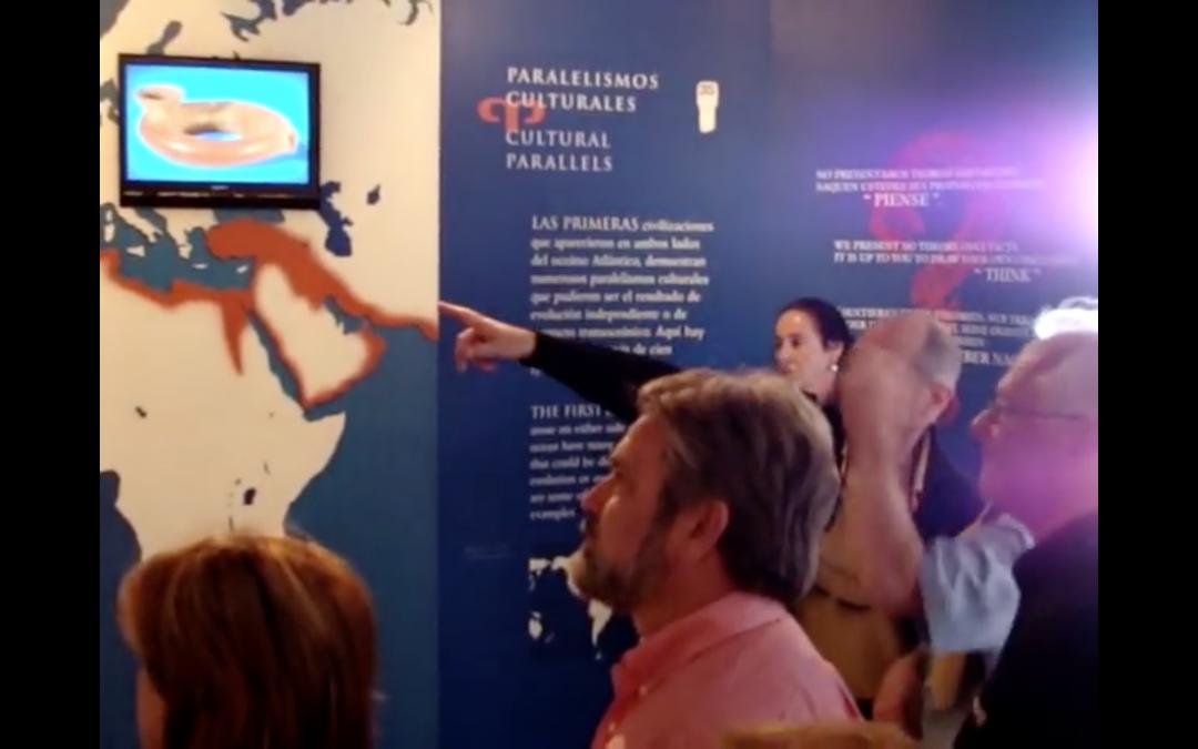 El Rotary Club Tenerife Sur visita las Piramides de Guimar