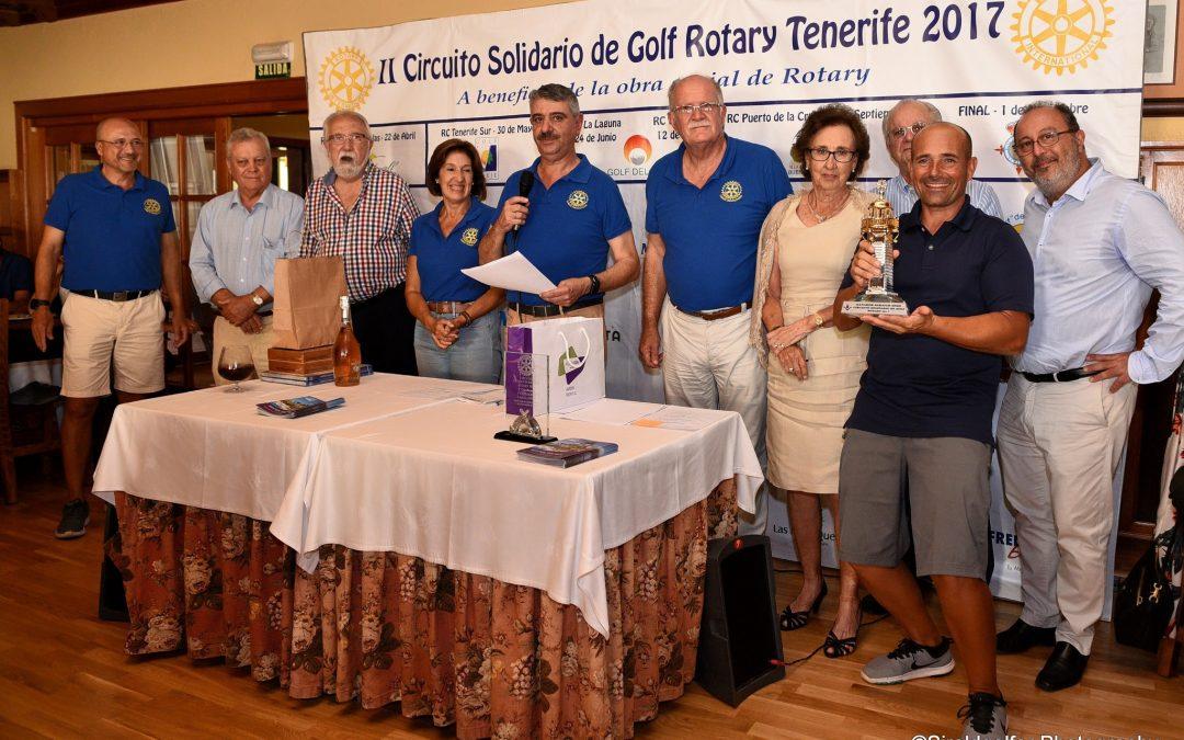 Finaliza el II Circuito Solidario de Golf Tenerife 2017