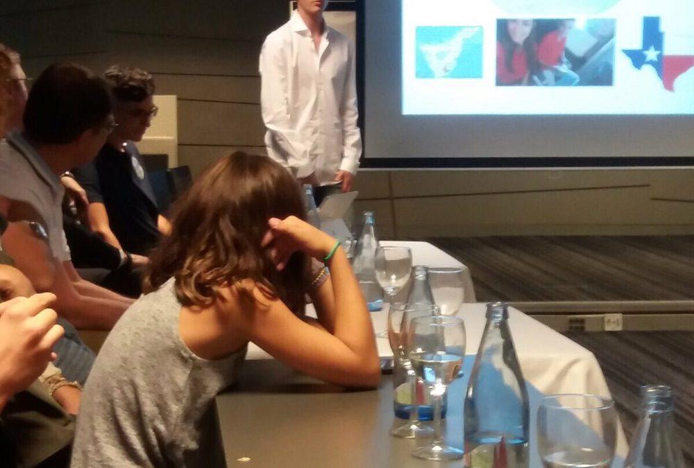 Jovenes de Tenerife Sur cuentan su experiencia en el Programa de Intercambios Rotarios