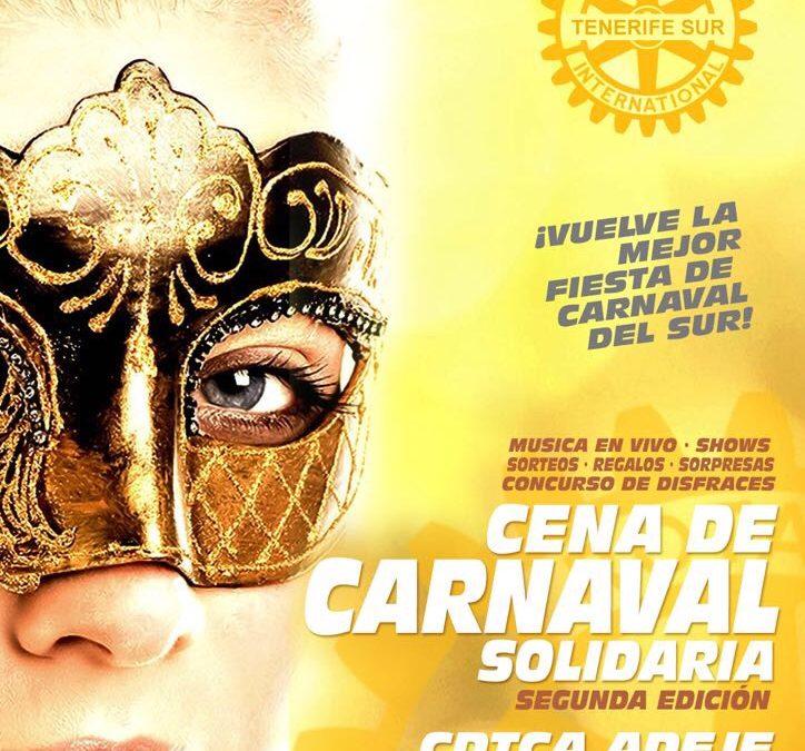 II Cena de Carnaval del Rotary Tfe Sur