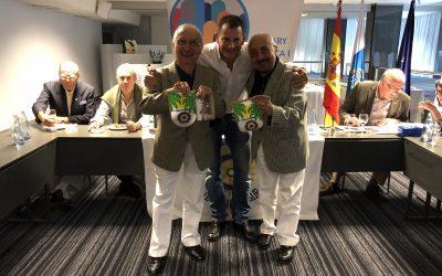 Visita de compañeros rotarios de Bolivia.