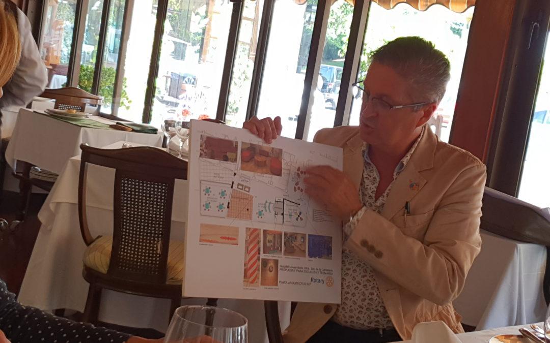 Los 5 clubes rotarios de Tenerife se reunen en Tacoronte para la coordinación de proyectos conjuntos