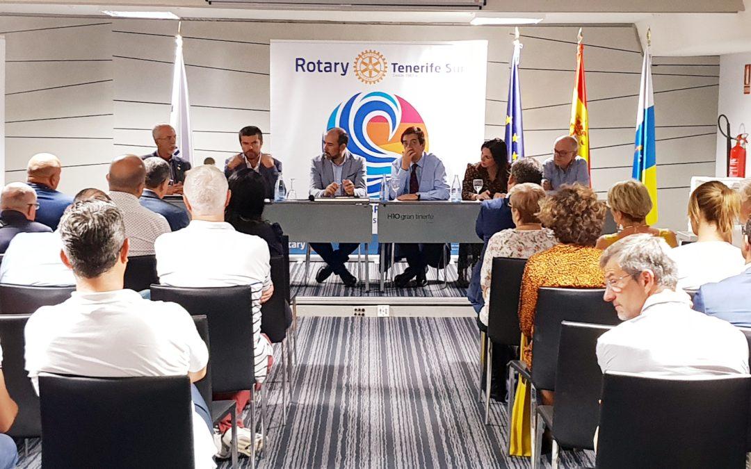 Antonio Martinón, rector magnífico de la Universidad de La Laguna ofrece una interesantísima charla en el Rotary Club Tenerife Sur