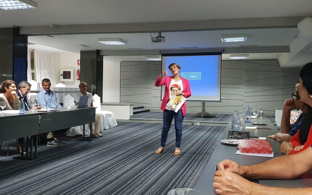 Factoría Social presenta al Rotary Club Tenerife Sur su proyecto ReciclArte