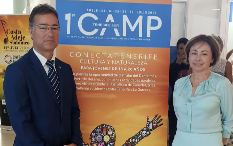 Amplia representación del Rotary Club Tenerife Sur en la Inauguración de la UVA