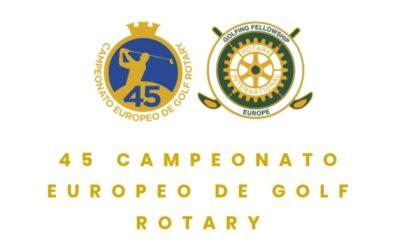 45 Campeonato Europeo de Golf Rotary 2019