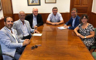 Rotary Tenerife Sur se reúne con José Luis  Gómez, teniente alcalde del  ayuntamiento de Arona.