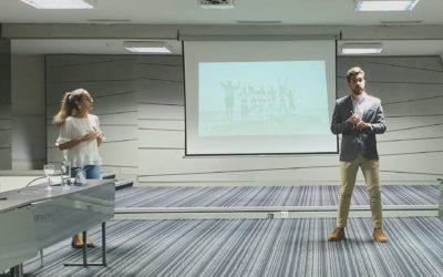 Miembros de los Rotarac de Tenerife y La Laguna presentan al Club Tenerife Sur su proyecto ambiental