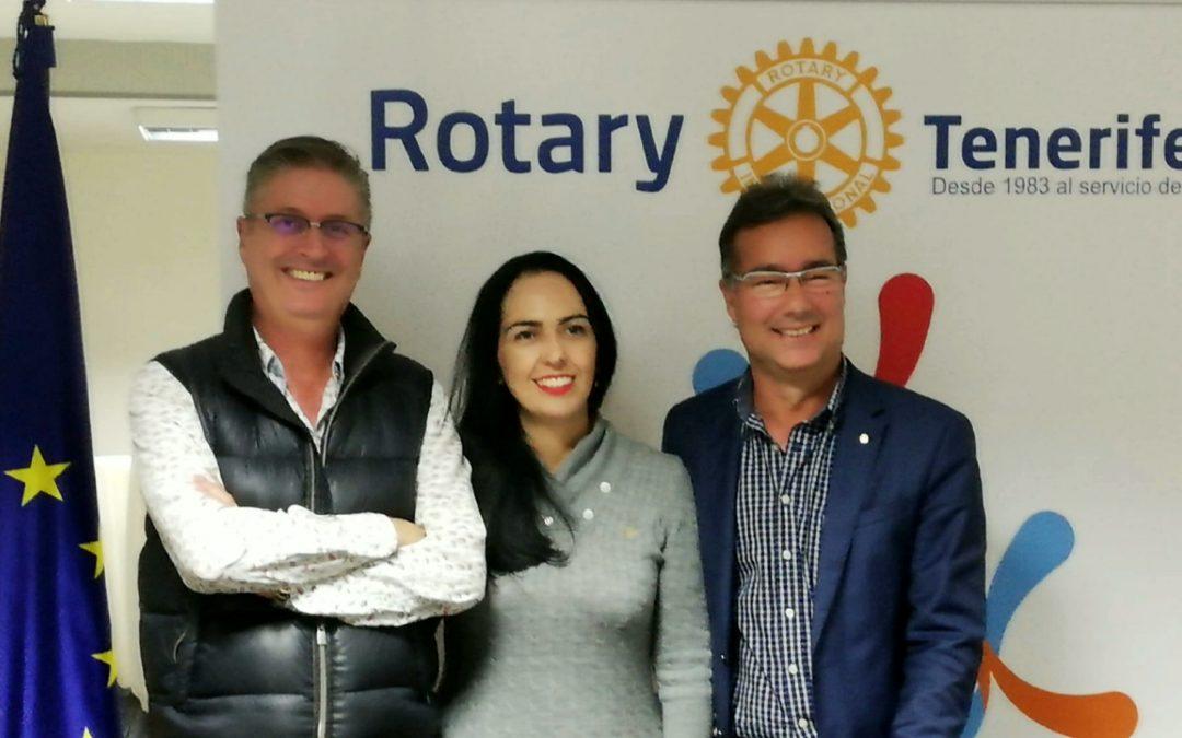 Raquel Arroyo elegida presidenta del Rotary Club Tenerife Sur para el año rotario 2021/2022
