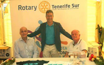 Rotary Club Tenerife Sur participa el la Jornada de Sensibilización Medioambiental SENSITUR en Los Cristianos