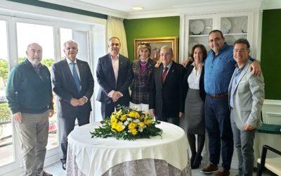 Reunión de presidentes y secretarios de los clubes rotarios de Tenerife.