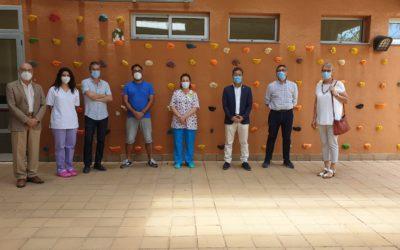 Los rotarios del Sur de Tenerife colaboran en la instalación de una Sala de Estimulación Sensorial en el Cento de Discapacidad de Adeje