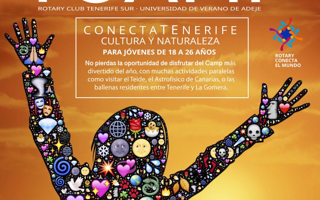 Rotary Club Tenerife Sur organiza junto a la ULL y el Ayuntamiento de Adeje su primer CAMP