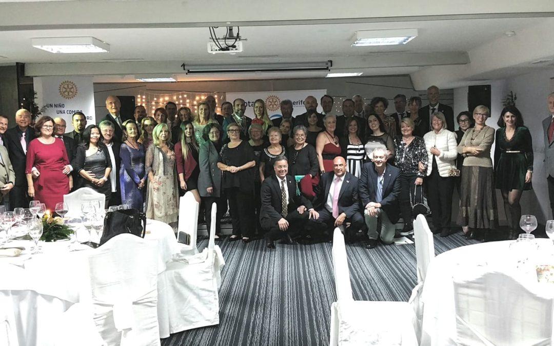 Cena de Navidad del Rotary Club Tenerife Sur