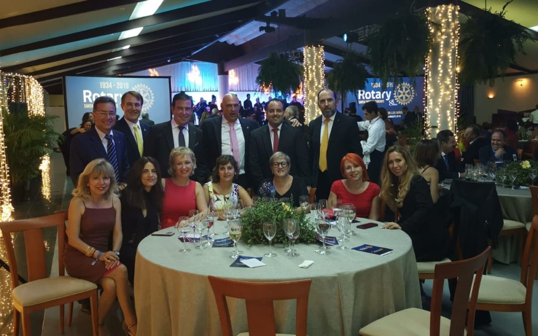 Gran Gala Solidaria del Club Rotario de Santa Cruz de Tenerife