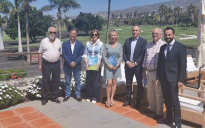 Reunión de presidentes de clubes rotarios de Tenerife en Adeje