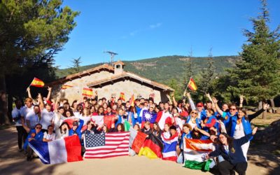 Los Delegados del Programa de Intercambio de Jóvenes de Rotary se reunieron con sus chicos de acogida en Navacerrada