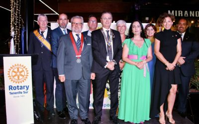 Cambio de Collares del Rotary Club Tenerife Sur Fotos 2020. Fotos y Video