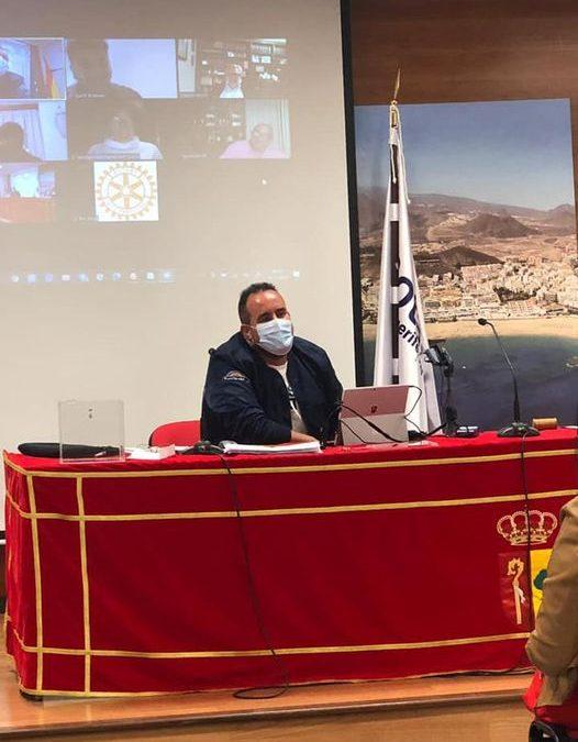 MARCOS AFONSO ELEGIDO PRESIDENTE NOMINADO DEL ROTARY CLUB TENERIFE SUR PARA 2022-2023