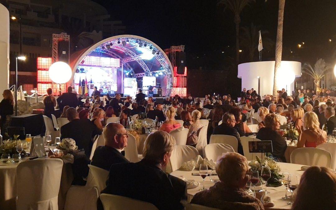 Gran éxito de la Cena Solidaria del Rotary Club Tenerife Sur