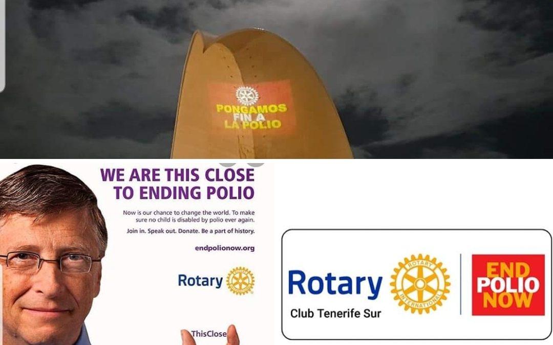 Rotary celebra el Día Mundial Contra la Polio