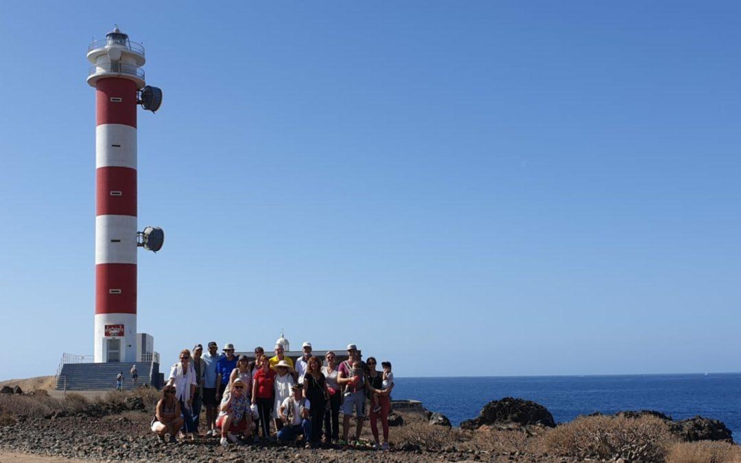 Caminata de convivencia al Faro de Punta de la Rasca, Arona, Tenerife