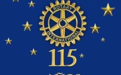 115 Aniversario de la fundación de Rotary Internacional