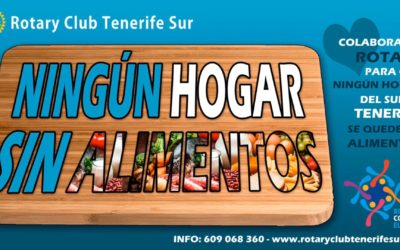Campaña «NINGÚN  HOGAR SIN ALIMENTOS» de Rotary Club Tenerife Sur