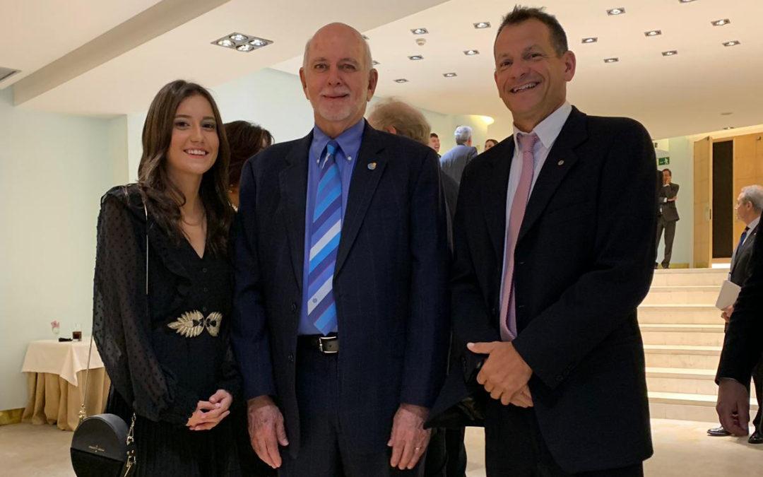 Barry Rassin, Presidente de Rotary International visita España