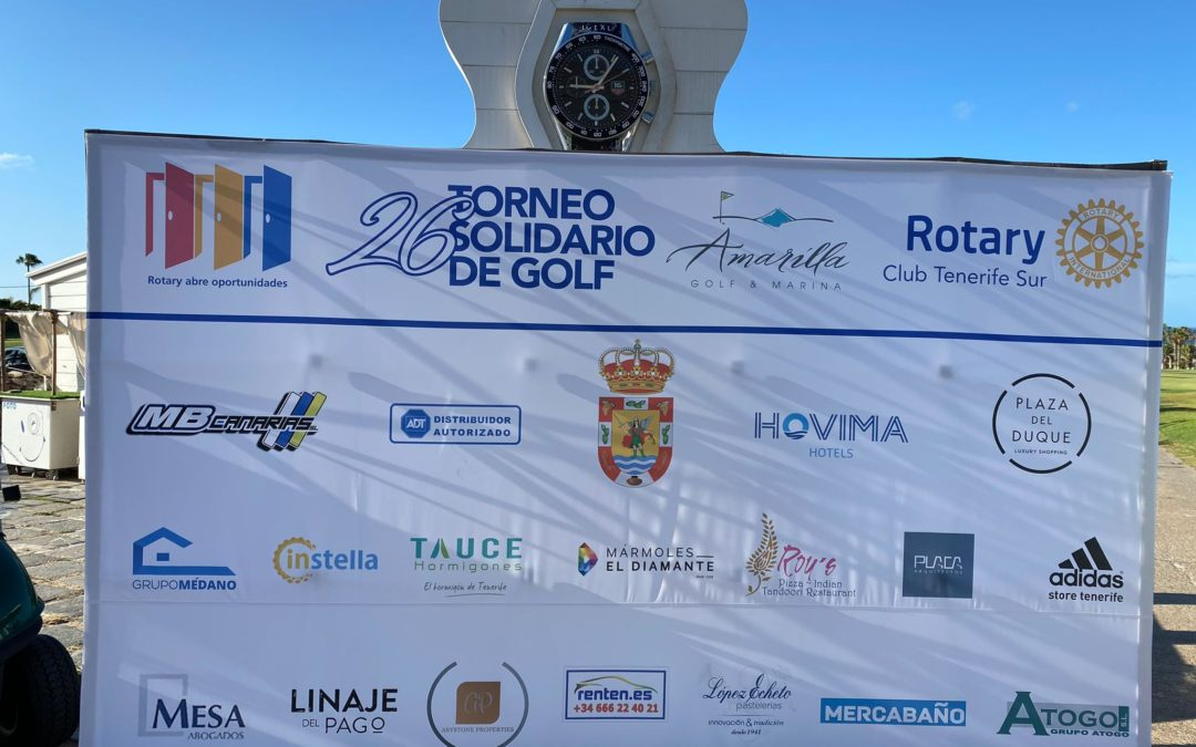 26 TORNEO SOLIDARIO ROTARY CLUB TENERIFE SUR