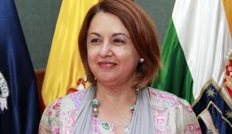 Miembros de la directiva del Rotary Club Tenerife Sur se reúnen con Josefa Mesa, alcaldesa de Guía de Isora.