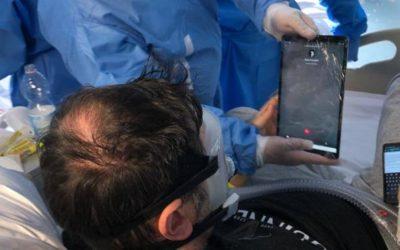 Los rotarios de Tenerife dotarán a hospitales y residencias públicas de Tablets para videoconferencias